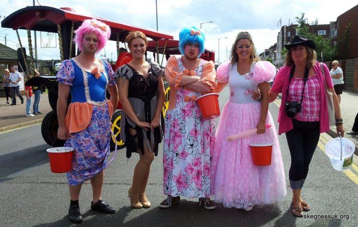 skegness carnival 2013