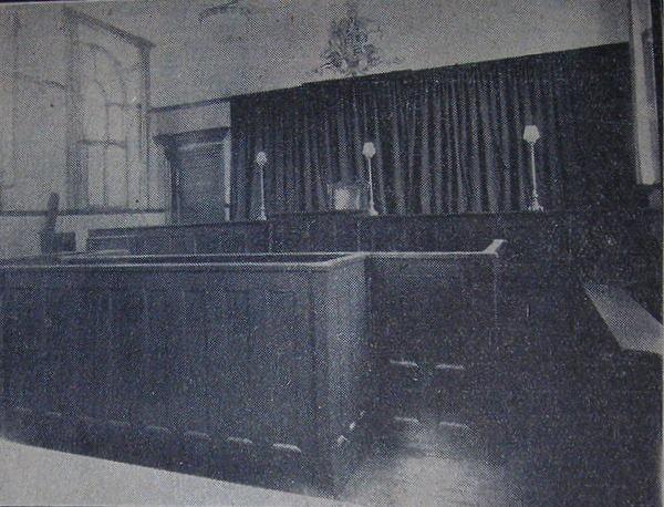 court interior
